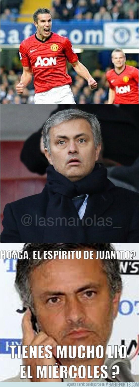 82574 - Mourinho ya está preparando el partido de Champions por @lasmanolas_