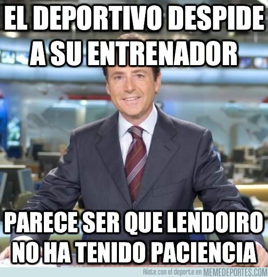 82626 - El Deportivo despide a Domingos Paciencia