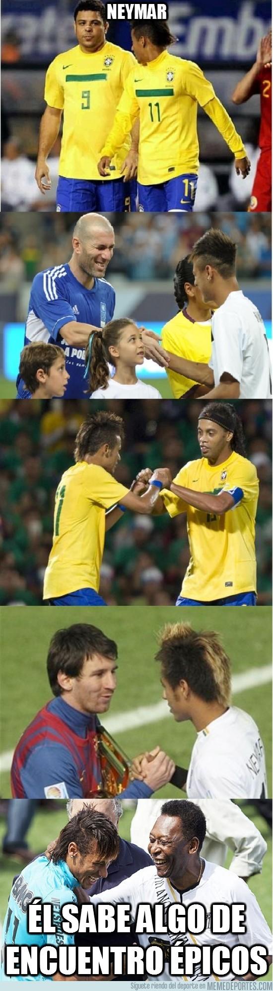 82729 - Neymar y sus encuentros épicos