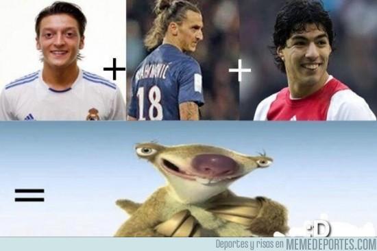 83006 - Ozil + Ibrahimovich + Suarez
