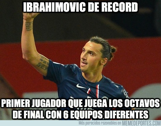 83341 - Ibrahimovic, aparte de la expulsión, ayer hizo historia