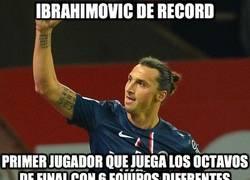 Enlace a Ibrahimovic, aparte de la expulsión, ayer hizo historia