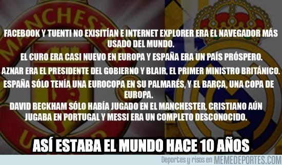83459 - La última vez que Manchester United y Real Madrid se enfrentaron