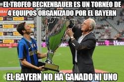 Enlace a El trofeo Beckenbauer es un torneo de 4 equipos organizado por el Bayern