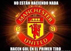 Enlace a Vaya suerte la del United