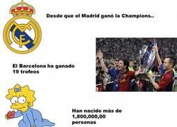 Enlace a Desde que el Madrid ganó la Champions han pasado grandes cosas