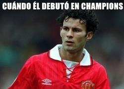 Enlace a Cuándo debutó en champions
