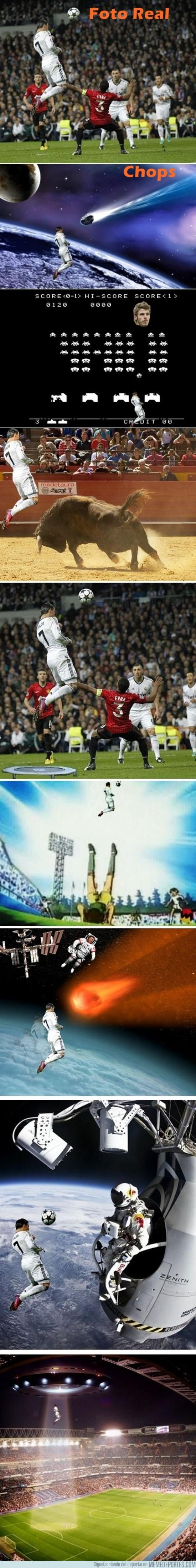 84836 - Cristiano Ronaldo y su espectacular salto
