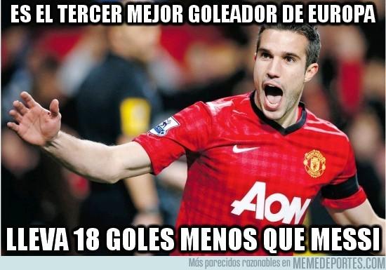 85771 - Es el tercer mejor goleador de Europa