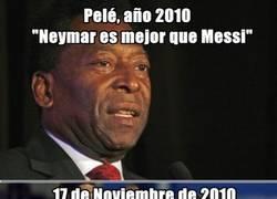 Enlace a Vete a casa Pelé, estás borracho