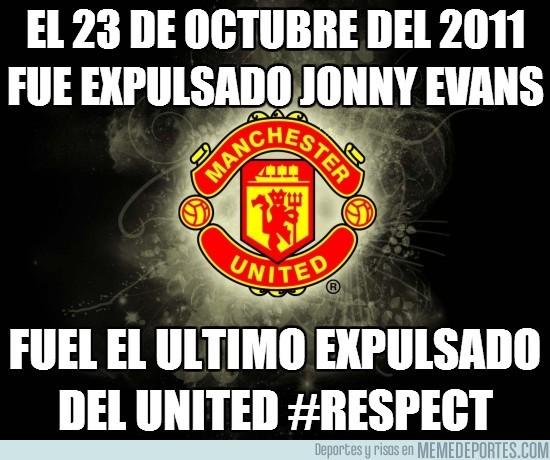 86986 - El 23 de octubre del 2011 fue expulsado Jonny Evans