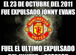Enlace a El 23 de octubre del 2011 fue expulsado Jonny Evans