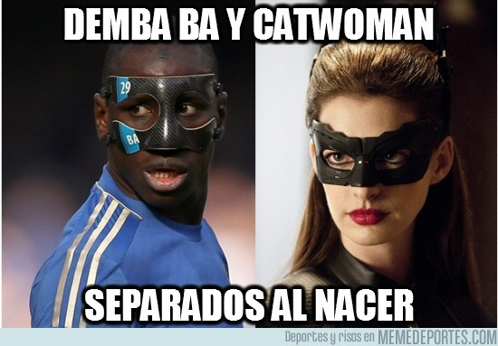 87090 - Demba Ba y Catwoman