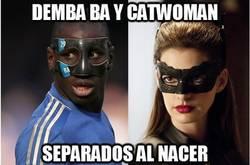Enlace a Demba Ba y Catwoman