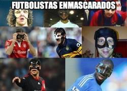 Enlace a Los futbolistas enmascarados
