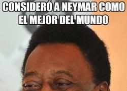 Enlace a Consideró a Neymar como el mejor del Mundo