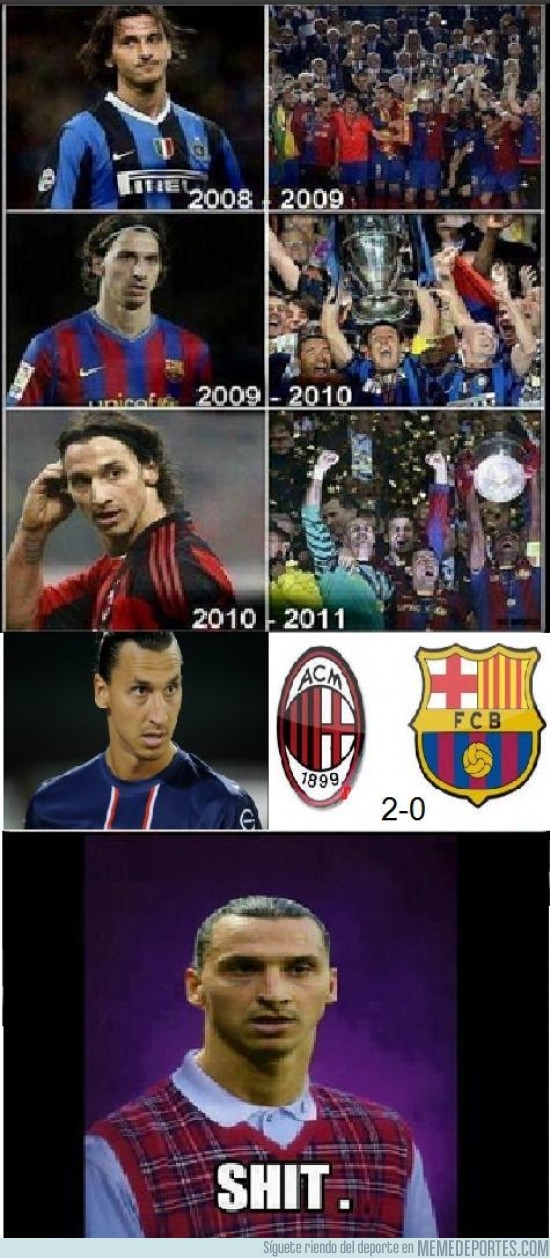 88171 - ¿Continuará la mala suerte de Ibrahimovic?