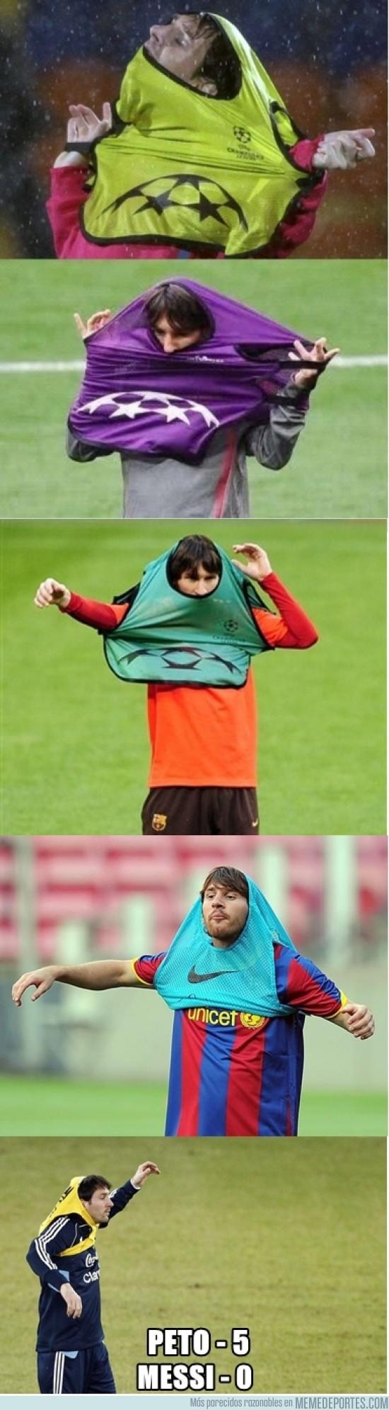 88391 - Messi sigue sin poder contra el peto