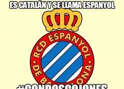 Enlace a Es catalán y se llama Espanyol