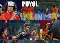 Enlace a Puyol, sin palabras
