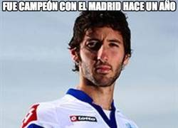 Enlace a Fue campeón con el Madrid hace un año
