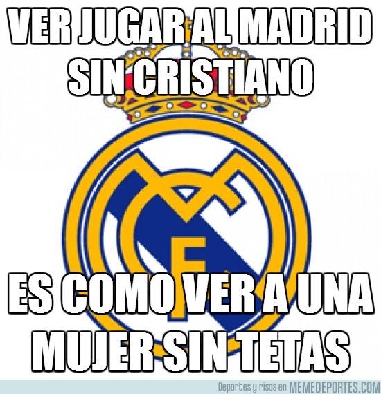 89664 - Ver jugar al Madrid sin Cristiano