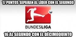 Enlace a Y ésta es la competitividad de la Bundesliga