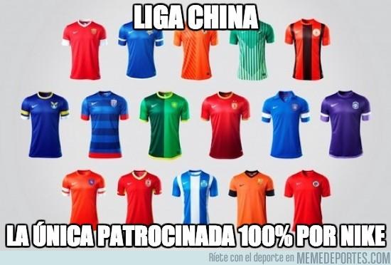 90688 - China tenía una liga, hasta que Nike la compró