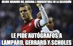 Enlace a Mejor jugador del Arsenal e indiscutible en la selección