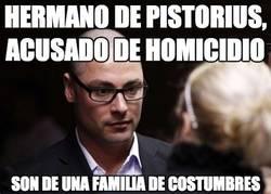 Enlace a El hermano de Pistorius, acusado de homcidio