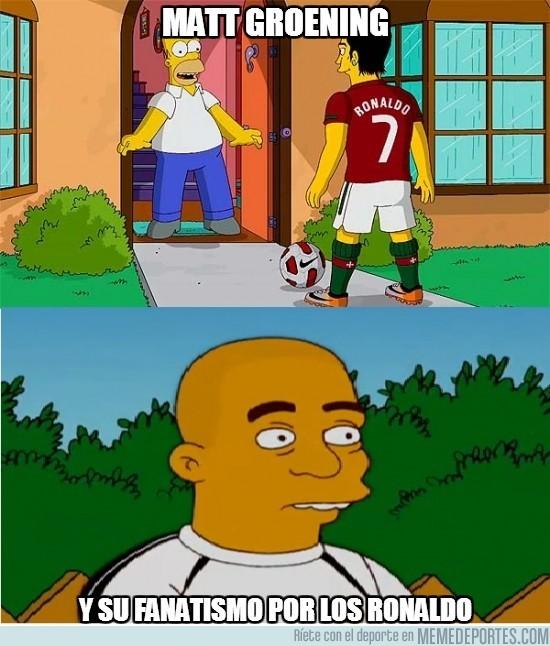 90925 - Matt Groening y su fanatismo por los Ronaldos