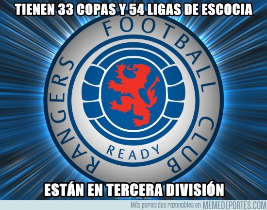 91023 - Rangers FC, lo que han sido y lo que son