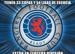 Enlace a Rangers FC, lo que han sido y lo que son