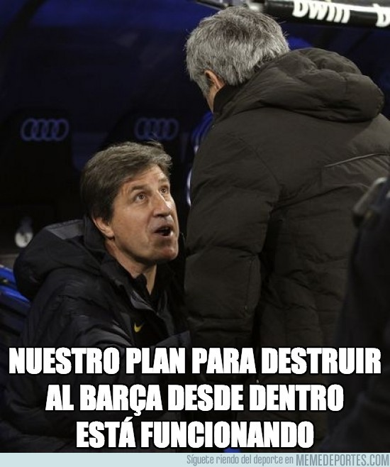 91740 - Nuestro plan para destruir al Barça