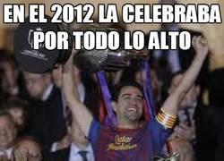 Enlace a En 2012 la celebraba por todo lo alto