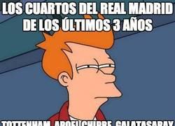 Enlace a Los cuartos del Real Madrid de los últimos 3 años