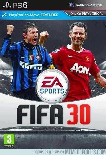 100146 - Y así será la portada del FIFA 30