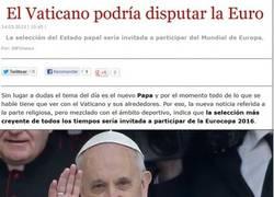 Enlace a ¿Selección del Vaticano?