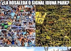 Enlace a ¿La Rosaleda o Signal Iduna Park?