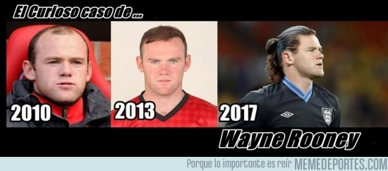100706 - Rooney y su evolución del cabello