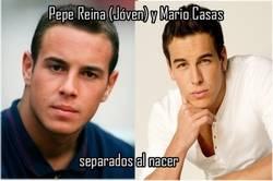 Enlace a Pepe Reina y Mario Casas