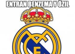 Enlace a Entran Benzema y Özil, muy dados a meter velocidad al asunto