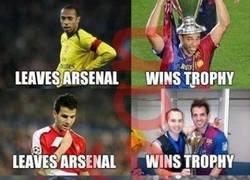 Enlace a Si un título quieres ganar, el Arsenal tienes que dejar