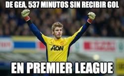 Enlace a De Gea, 537 minutos sin recibir gol