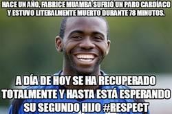 Enlace a La recuperación de Fabrice Muamba