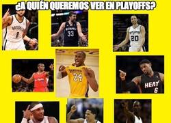 Enlace a ¿A quién queremos ver en Playoffs?