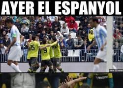 Enlace a El Espanyol se disfrazó del próximo rival del Málaga para dar miedo