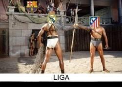 Enlace a Liga, Copa y Champions