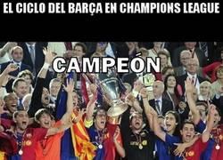Enlace a El Barça y su ciclo en Champions League