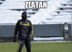 Enlace a Zlatan like a ninja